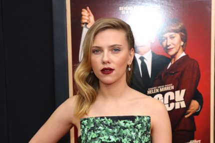 "Actress Scarlett Johansson attends the ""Hitchcock"" New York Premiere at Ziegfeld Theater on November 18, 2012 in New York City."