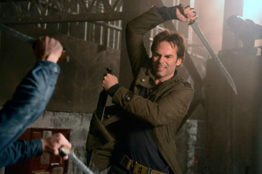 "REVOLUTION -- ""Nobody's Fault But Mine"" Episode 110 -- Pictured: Billy Burke as Miles Matheson"