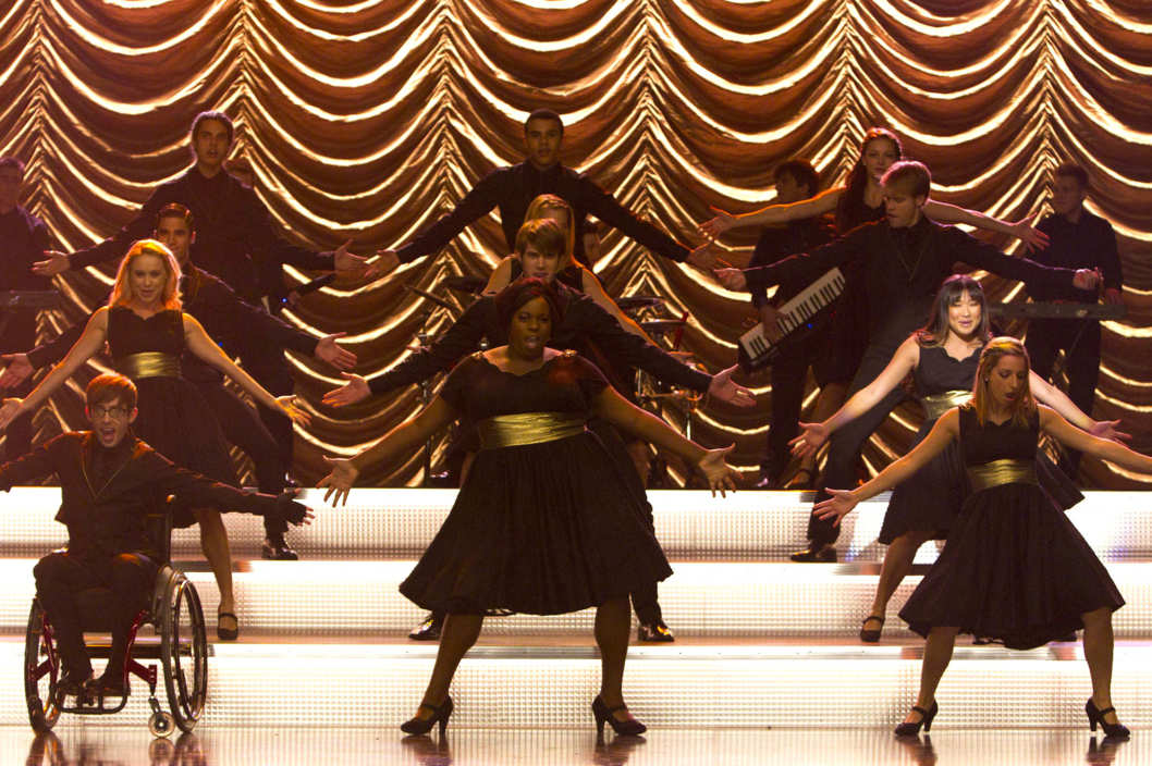 "GLEE: New Directions perform in the ""Thanksgiving"" episode of GLEE airing Thursday, Nov. 29 (9:00-10:00 PM ET/PT) on FOX."