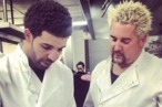 Guy Fieri and Drake Are Cooking With Gas