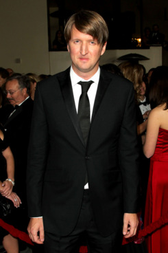 Director Tom Hooper arrives at the 64th Annual Directors Guild Of America Awards held at the Grand Ballroom at Hollywood & Highland on January 28, 2012 in Hollywood, California.