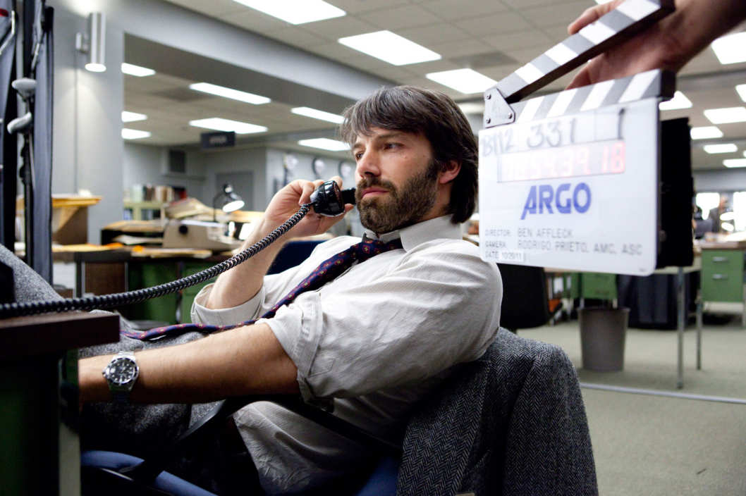 "BEN AFFLECK as Tony Mendez on the set of ""ARGO,"" a presentation of Warner Bros. Pictures in association with GK Films, to be distributed by Warner Bros. Pictures."