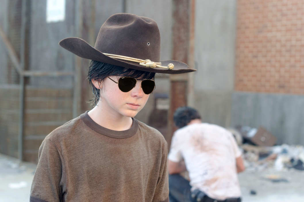 Carl Grimes (Chandler Riggs) - The Walking Dead - Season 3, Episode 4