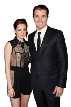 Actors Kristen Stewart and her co-star Garrett Hedlund attend a special screening of &quot;On The Road&quot; at Sundance Cinema on December 6, 2012 in Los Angeles, California.