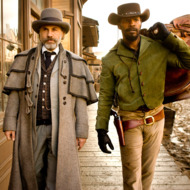 "Christoph Waltz, left, and Jamie Foxx star in Columbia Pictures' ""Django Unchained."""
