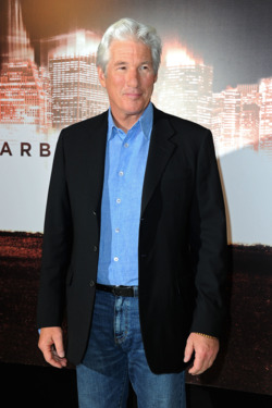"Richard Gere attends a photocall for the film ""Arbitrage"" at Hotel Meurice on December 4, 2012 in Paris, France."