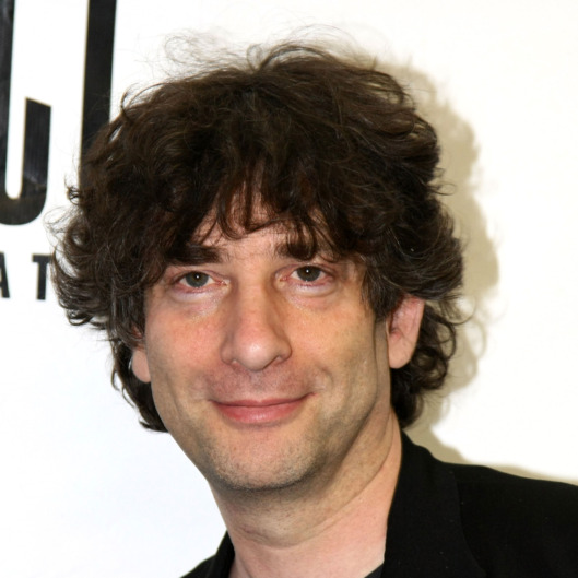 "Author Neil Gaiman attends the celebration for the world premiere of the musical, ""Coraline"" at Telsey + Company Studios on June 1, 2009 in New York City."