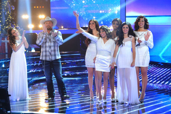 Carly Rose Sonenclar, Tate Stevens, and Fifth Harmony