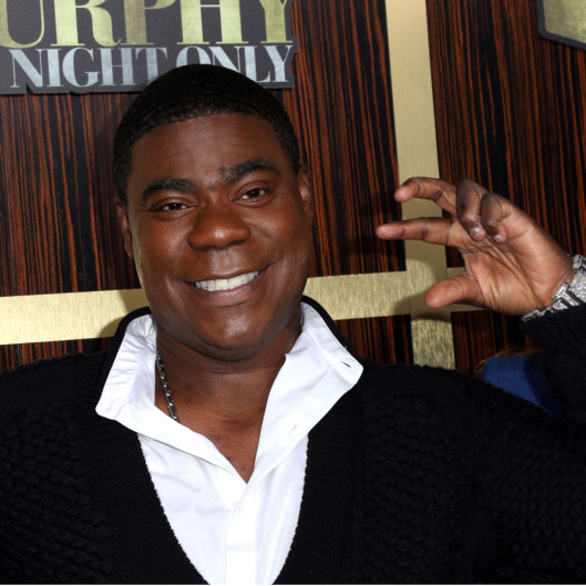"Actor Tracy Morgan arrives at Spike TV's ""Eddie Murphy: One Night Only"" at the Saban Theatre on November 3, 2012 in Beverly Hills, California."