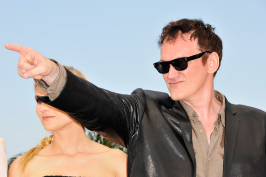 "Quentin Tarantino and Diane Kruger at the photo call of ""Inglourious Basterds"", during 62nd Cannes Film Festival."