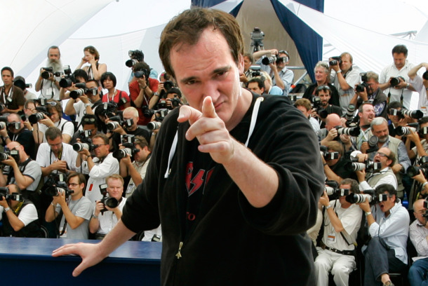 "22 May 2007, Cannes, France --- U.S. director Quentin Tarantino at the photo call of ""Death Proof"" during the 60th Cannes Film Festival.  --- Image by © Eric Gaillard/Reuters/Corbis"