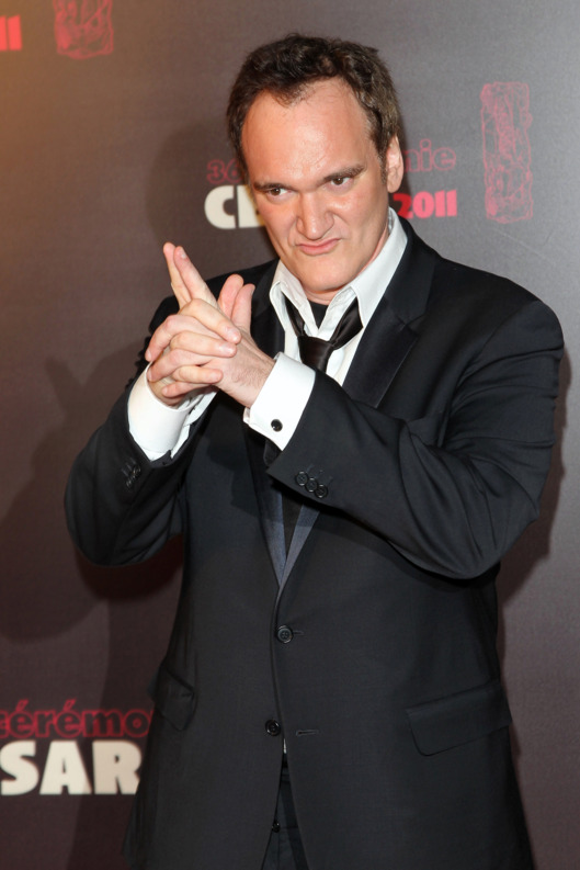 Quentin Tarantino attends the 36th Cesar Film Awards at Theatre du Chatelet on February 25, 2011 in Paris, France.