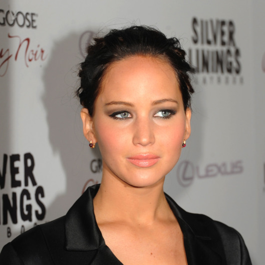 "Actress Jennifer Lawrence attends a screening of The Weinstein Company's ""Silver Linings Playbook"" at the Academy of Motion Picture Arts and Sciences on November 19, 2012 in Beverly Hills, California."
