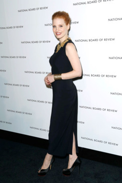 Jessica Chastain - National Board of Review Awards Gala - Cipriani 42nd. St., New York
