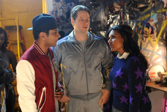 THE MINDY PROJECT: Morgan (Ike Barinholtz, C) and R