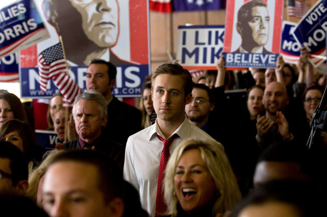 Ryan Gosling stars in Columbia Pictures' IDES OF MARCH.