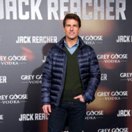 Actor Tom Cruise attends the &quot;Jack Reacher&quot; premiere at the Callao cinema on December 13, 2012 in Madrid, Spain.