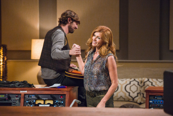 "NASHVILLE - ""Be Careful of Stones That You Throw"" - Rayna and Juliette are locked for their tour. When Rayna suggests taking her girls with her, she finds that Lamar's not above holding her hostage with some long forgotten famil"
