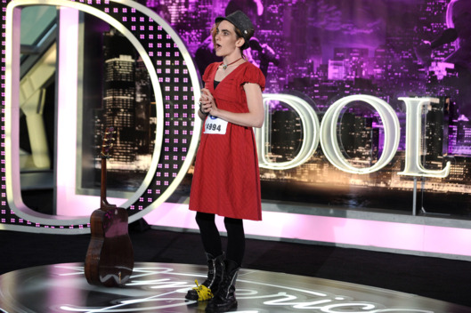 "AMERICAN IDOL: Chicago Auditions: Contestant (Katherine ""Kez Ban"" Sauerbier) on AMERICAN IDOL airing Thursday, Jan. 17 (8:00-10:00 PM ET/PT) on FOX."