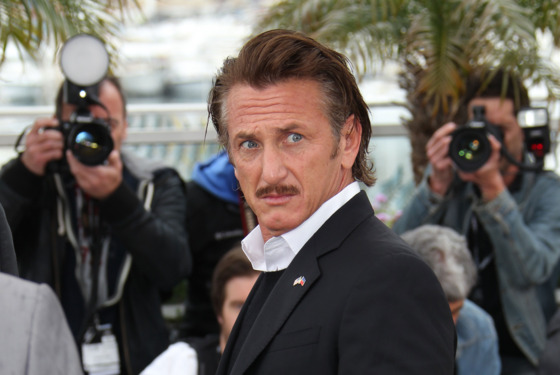 "CANNES, FRANCE - MAY 18:  Sean Penn attends the ""Haiti Carnival In Cannes"" photocall on May 18, 2012 in Cannes, France.  (Photo by Tony Barson/FilmMagic)"
