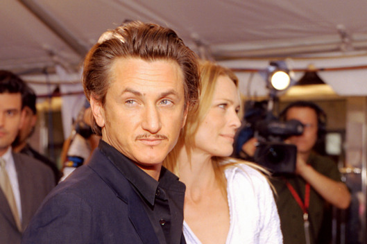 "Sean Penn and Robin Wright Penn during 2002 Toronto Film Festival - ""White Oleander"" Premiere at Roy Thompson Hall in Toronto, Ontario, Canada. (Photo by George Pimentel/WireImage)"
