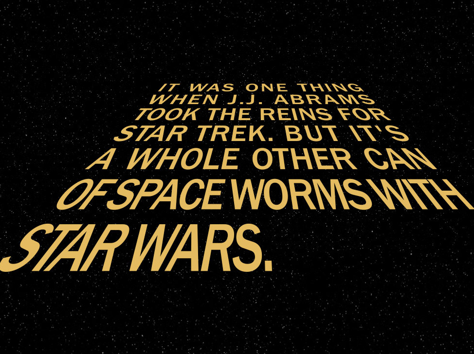 Star Wars Love Quotes Brilliant What We Can Expect From A J.jabrams Star Wars  Vulture