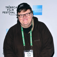 Director Michael Moore attends the 2012 TFF Awards during the 2012 Tribeca Film Festival at the Conrad Hotel on April 26, 2012 in New York City.