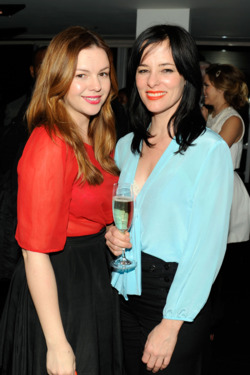 Amber Tamblyn, Parker Posey - THE CINEMA SOCIETY &amp; ARTISTRY present a screening of Summit Entertainment's WARM BODIES After Party - Landmark Sunshine Cinema, NYC