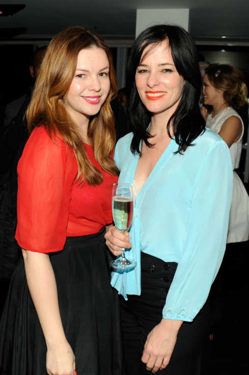 Amber Tamblyn, Parker Posey - THE CINEMA SOCIETY & ARTISTRY present a screening of Summit Entertainment's WARM BODIES After Party - Landmark Sunshine Cinema, NYC