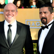 Actor Dean Norris arrives at the 19th Annual Screen Actors Guild Awards held at The Shrine Auditorium on January 27, 2013 in Los Angeles, California.