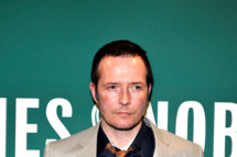 "Recording artist Scott Weiland promotes his new book ""Not Dead & Not For Sale"" at Barnes & Noble Union Square on May 17, 2011 in New York City."