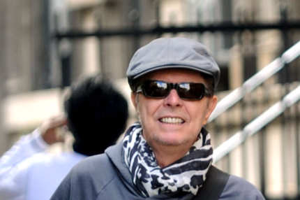 David Bowie and female friend go to lunch at Sant Umbroeus in New York City. David Bowie had walked into the West Village unnoticed as he blended in with New Yorkers.