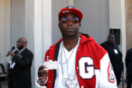 Gucci Mane attends the BET Hip Hop Awards 2010 at Boisfeuillet Jones Atlanta Civic Center on October 2, 2010 in Atlanta, Georgia.