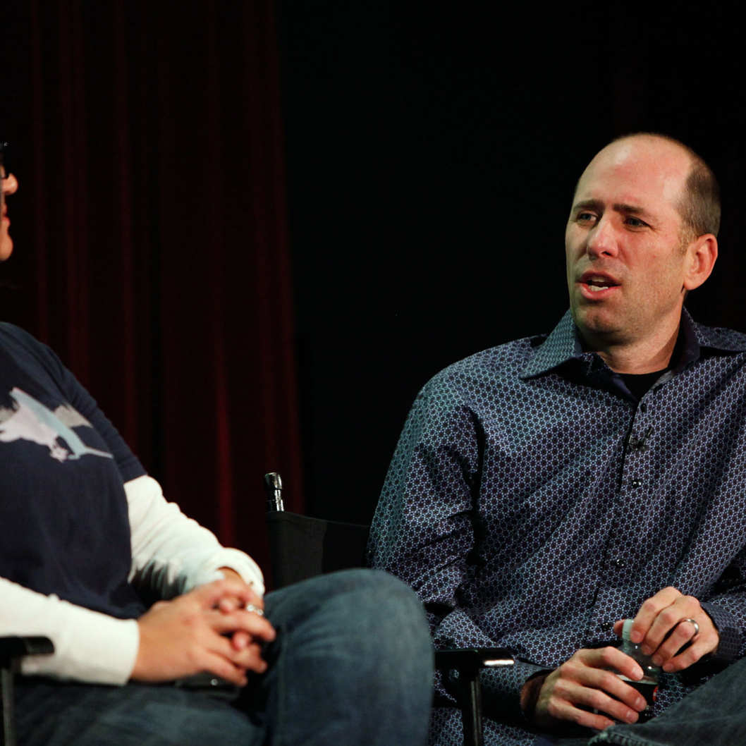 Writer Greg Garcia speaks at the panel discussion of The Future of Sitcoms at The New Yorker Festival at Directors Guild Theatre on October 6, 2012 in New York City.