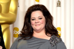 Actress Melissa McCarthy poses in the press room during the Oscars held at Loews Hollywood Hotel on February 24, 2013 in Hollywood, California.