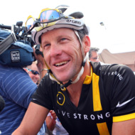 Lance Armstrong attends the 2011 Pan-Massachusetts Challenge on August 6, 2011 in Bourne, Massachusetts.