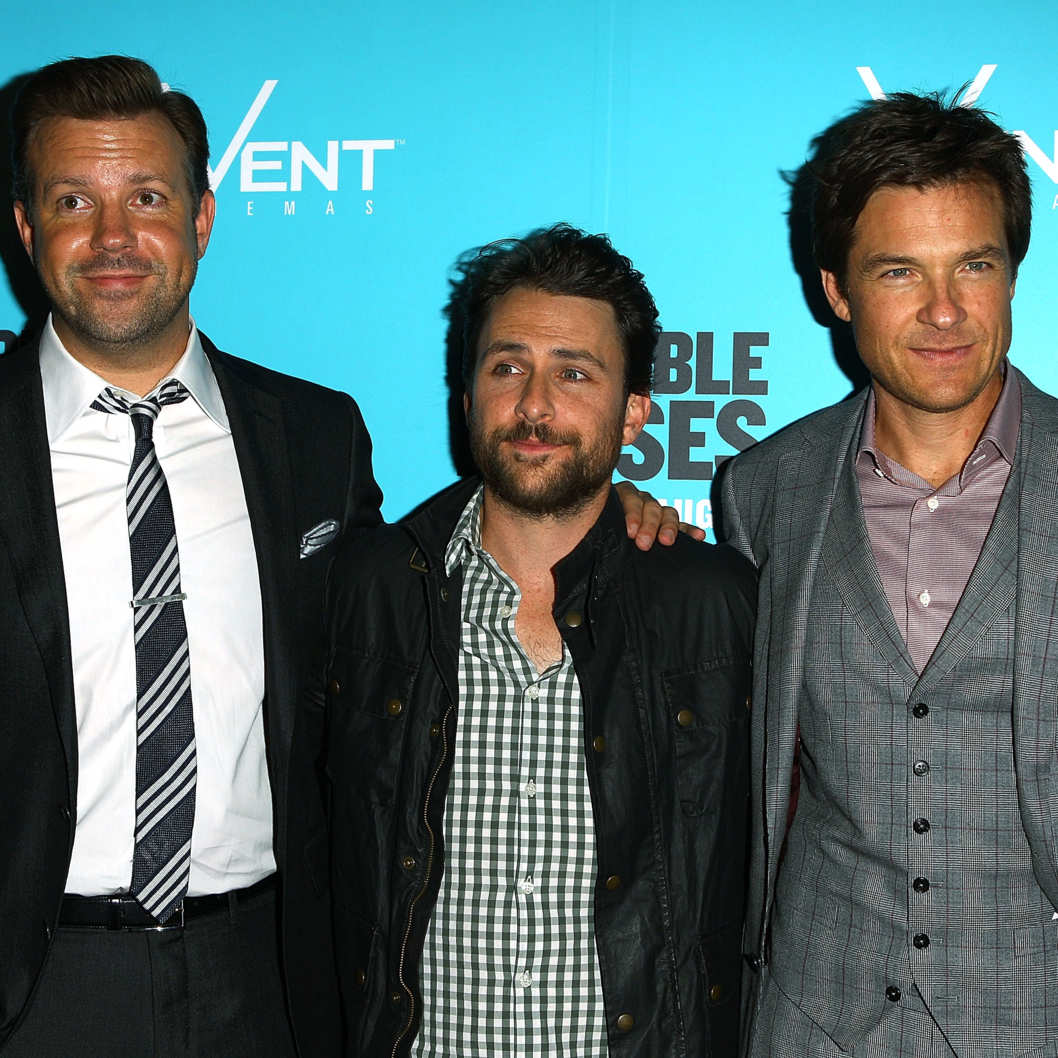 "Actors Jason Sudeikis, Charlie Day and Jason Bateman arrive at the premiere of ""Horrible Bosses in Sydney on Tuesday August 16th, 2011."