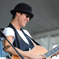 Michelle Shocked performs during the 2011 New Orleans Jazz & Heritage Festival - Day 4 presented by Shell at The Fair Grounds Race Course on May 5, 2011 in New Orleans, Louisiana.