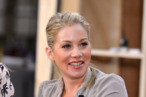 "Actress Christina Applegate attends NBCUniversal's ""Up All Night"" TCA set visit at CBS Studios - Radford on July 31, 2012 in Studio City, California."