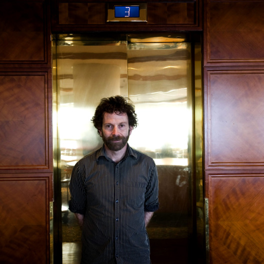 US film director Charlie Kaufman poses for a photograph during an interview at the Gothenburg film festival in Gothenburg on January 29, 2011. AFP PHOTO/SCANPIX/Bj?rn Larsson Rosvall   **  SWEDEN OUT  ** (Photo credit should read BJORN LARSSON ROSVALL / SCANPIX/AFP/Getty Images)