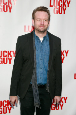 "Dallas Roberts==Opening Night Arrivals for ""Lucky Guy""==Broadhurst Theatre, NYC==April 01, 2013==©Patrick Mcmullan==photo-Sylvain Gaboury/PatrickMcmullan.com===="
