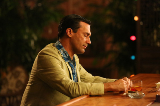 Don Draper (Jon Hamm) - Mad Men - Season 6, Episode 1 - Photo Credit: Michael Yarish/AMC
