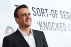 HOLLYWOOD, CA - DECEMBER 12:  Actor Jason Segel  attends the premiere of Universal Pictures' &quot;This Is 40&quot; at Grauman's Chinese Theatre on December 12, 2012 in Hollywood, California.  (Photo by Kevin Winter/Getty Images)