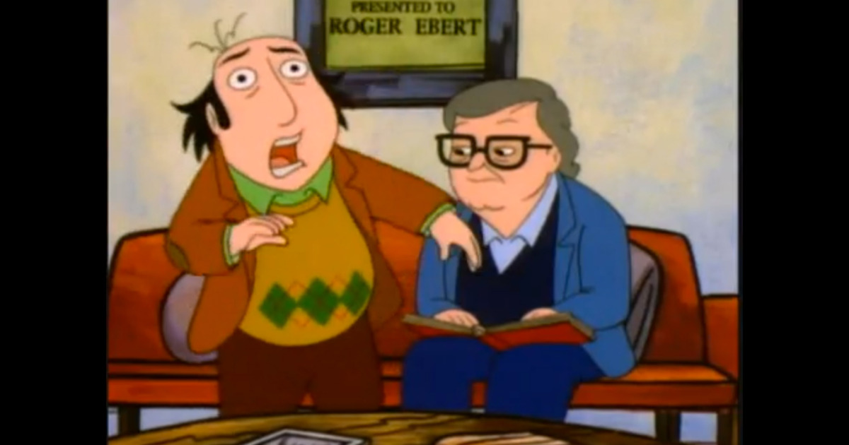 The Simpsons Showrunner Al Jean Remembers the Time Roger Ebert Appeared on The Critic