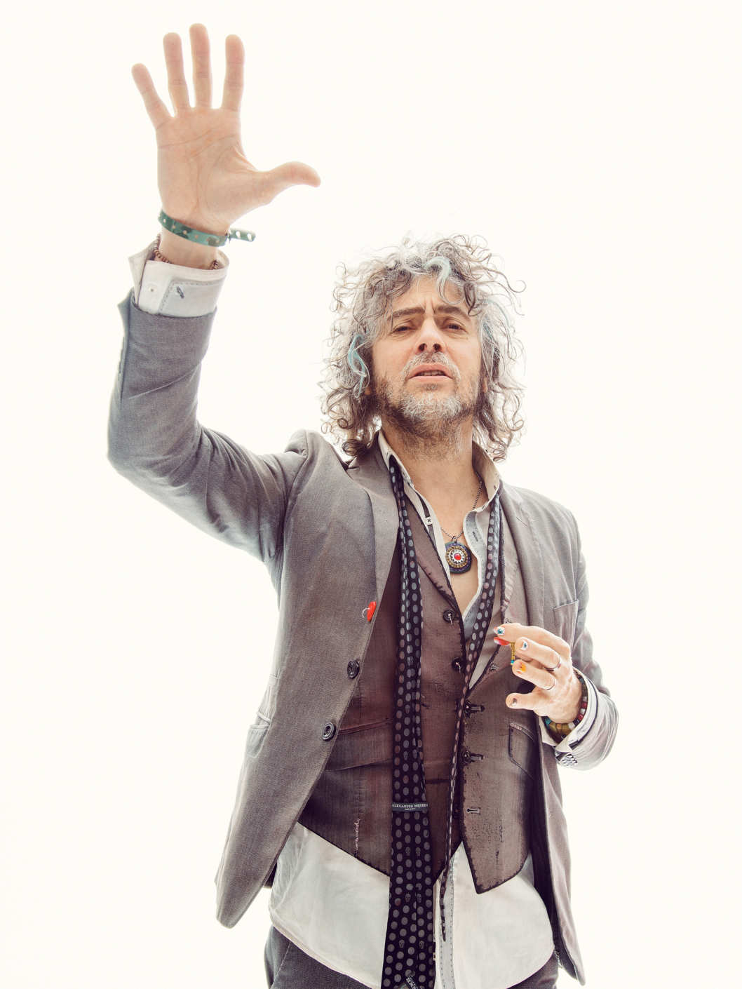 Wayne Coyne of the Flaming Lips photographed at Splashlight Studios in New York City