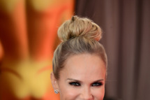 Actress Kristin Chenoweth arrives at the Oscars at Hollywood & Highland Center on February 24, 2013 in Hollywood, California.