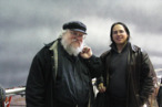 Game of Thrones' George R.R. Martin Eats With Fans