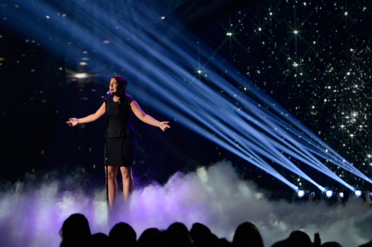 Kree Harrison performs on AMERICAN IDOL