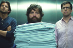 "(L-r) BRADLEY COOPER as Phil, ZACH GALIFIANAKIS as Alan and ED HELMS as Stu in Warner Bros. Pictures' and Legendary Pictures' comedy ""THE HANGOVER PART III,"" a Warner Bros. Pictures release."