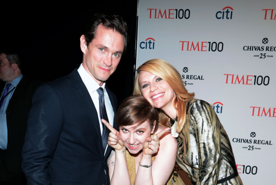 Hugh Dancy, Lena Dunham, Claire Danes== TIME 100 GALA: TIME'S 100 MOST INFLUENTIAL PEOPLE IN THE WORLD== Jazz at Lincoln Center, NYC== April 23, 2013== ©Patrick McMullan== Photo - PATRICK MCMULLAN/PatrickMcMullan.com== ==